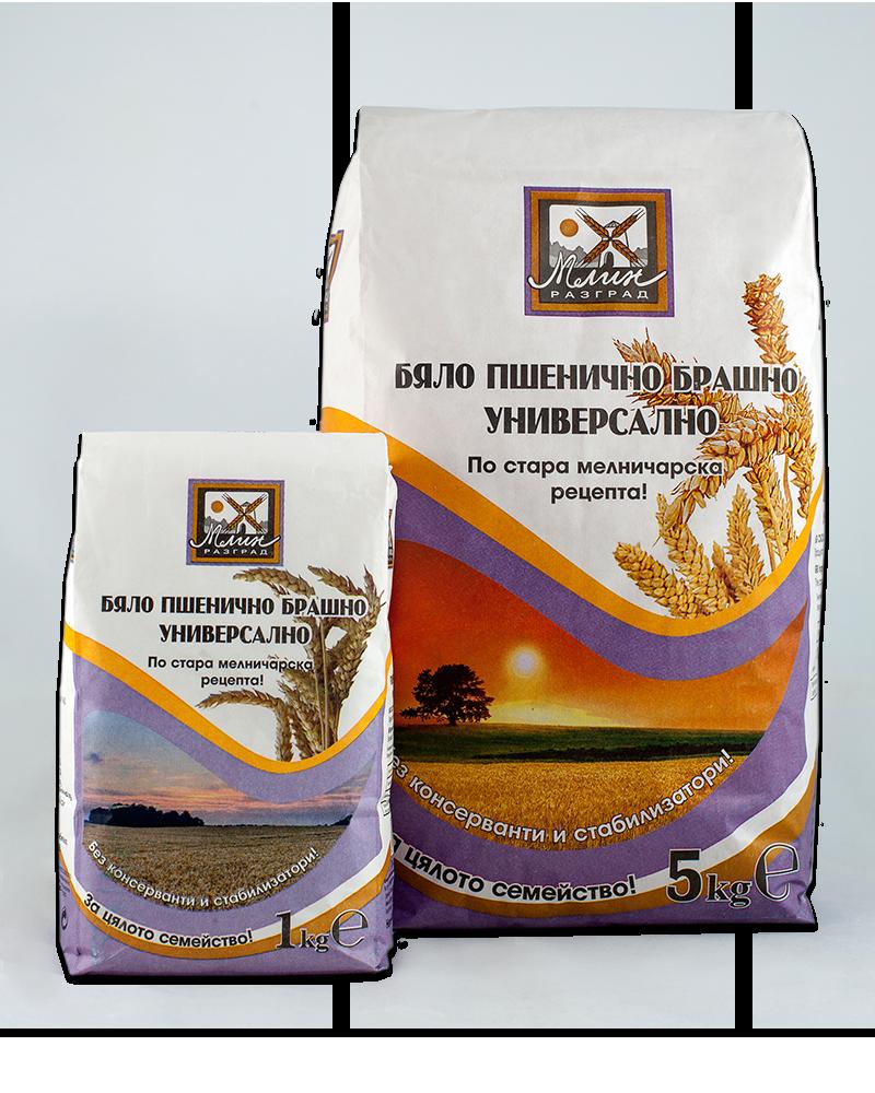 White wheat flour type 650 universal